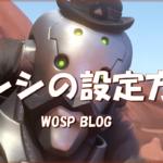 【OW】センシの設定方法